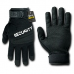 Rapid Dominance T29 Digital Leather Duty Gloves: Black, Security