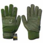 Rapid Dominance T40 Nomex Knuckle Glove: Olive Drab