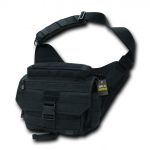 Rapid Dominance T311 Tactical Messenger Bag: Black