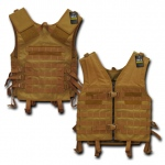 Rapid Dominance T201 Tactical Modular Style Vest: Coyote