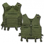 Rapid Dominance T201 Tactical Modular Style Vest: Olive Drab
