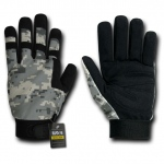 Rapid Dominance T09 Digital Camo Tactical Gloves: Urban