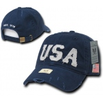 Rapid Dominance A01 USA Caps: Navy, Southern Cal