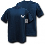 Rapid Dominance S26 Basic Military T-Shirts: Navy, Air Force