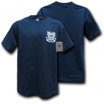 Rapid Dominance S26 Basic Military T-Shirts: Navy, Coast Guard