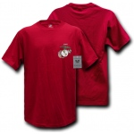 Rapid Dominance S26 Basic Military T-Shirts: Cardinal, Marines