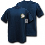 Rapid Dominance S26 Basic Military T-Shirts: Navy, Navy