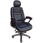 Wild Sports Baltimore Ravens Head Coach Office Chair