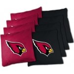 Wild Sports Arizona Cardinals XL Bean Bag Set