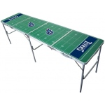 Wild Sports  Tennessee Titans Tailgate Table: 2' x 8'