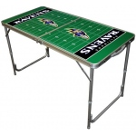 Wild Sports Baltimore Ravens Tailgate Table: 2' x 4'