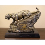 Wild Sports Carolina Panthers Desktop Statue