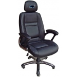 Wild Sports Carolina Panthers Head Coach Office Chair