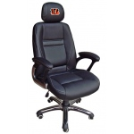 Wild Sports Cincinnati Bengals Head Coach Office Chair