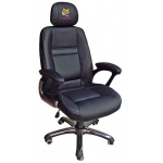 Wild Sports LSU Tigers Head Coach Office Chair