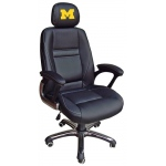 Wild Sports University of Michigan Wolverines Head Coach Office Chair