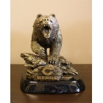 Wild Sports Chicago Bear Desktop Statue