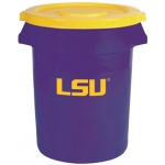 Wild Sports LSU Tigers Bruteô Trash Can  by Rubbermaid: 32 Gallon