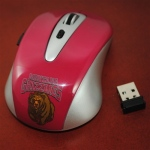 Wild Sports Montana Grizzlies Wireless Mouse