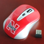 Wild Sports University of Nebraska Cornhuskers Wireless Mouse