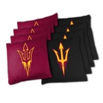 Wild Sports Arizona State College XL Bean Bag Set