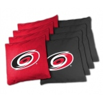 Wild Sports Carolina Hurricanes Tailgate Toss XL Bean Bag Set