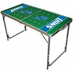 Wild Sports Detroit Lions Tailgate Table: 2' x 4'