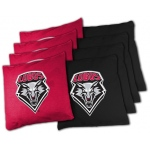 Wild Sports New Mexico Lobos College XL Bean Bag Set