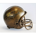 Wild Sports Baltimore Ravens Desktop Helmet Statue
