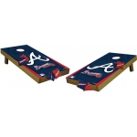 Wild Sports Atlanta Braves Tailgate Toss Cornhole Shields