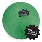 "Green Dodge Ball 8.5"" with Needle"