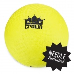 "Yellow Dodge Ball 8.5"" with Needle"