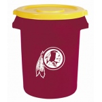 Wild Sports Washington Redskins Bruteô Trash Can by Rubbermaid: 32 Gallon