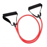 4' Red Medium Tension (12 lb.) Exercise Resistance Band