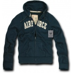Rapid Dominance R43 Full Zip Fleece Military Hoodies: Navy, Air Force, XL