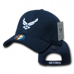 Rapid Dominance S002 Air Mesh Military Caps: Navy, Air Force Wings