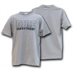 Rapid Dominance J26 Law Enforcement Training T-Shirts: Heather Grey, Fire Department