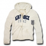 Rapid Dominance R44 Waffle Lined Military Fleece Hoodie: Cream, Airforce