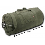Rapid Dominance R32M Heavy Duffle Bags: Olive, Medium
