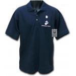 Rapid Dominance SET Special Event Polo Shirts: Marines, Navy, M