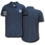 Rapid Dominance S20 Military Polo Shirt: Navy, Coast Guard