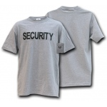 Rapid Dominance J26 Law Enforcement Training T-Shirts: Heather Grey, Security, XL