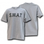 Rapid Dominance J26 Law Enforcement Training T-Shirts: Heather Grey, SWAT