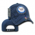 Rapid Dominance S007 Shadow Military Baseball Caps: Navy, Navy