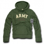 Rapid Dominance R45 Military Fleece Pullover Hoodies: Olive, Army