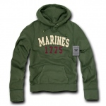 Rapid Dominance R45 Military Fleece Pullover Hoodies: Olive, Marines