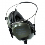 Altus Pro Ears Pro Tac 300 NRR 26: Electronic Ear Muffs, Green, Behind the Head