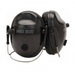 Altus Pro Ears Pro Tac 200 NRR 19: Electronic Ear Muffs, Black, Behind the Head