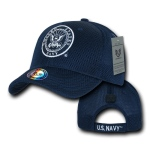 Rapid Dominance S002 Air Mesh Military Caps: Navy, Navy