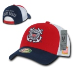 Rapid Dominance S010 Deluxe Mesh Military Caps: Coast Guard